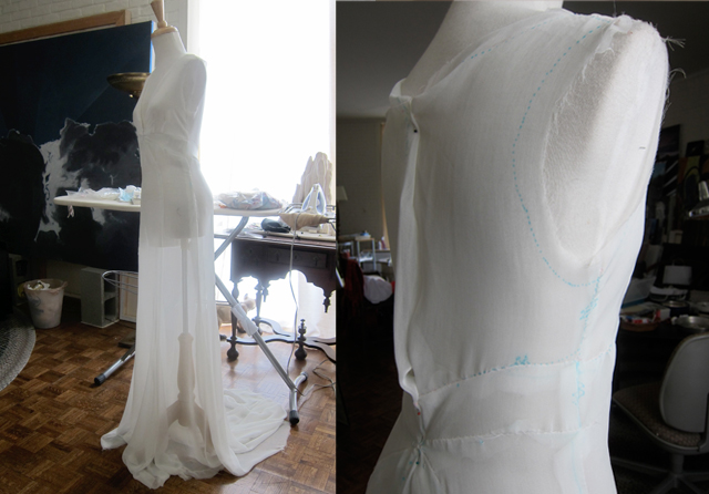 we knew wanted to incorporate a part of il cicaleto s history into the dress design