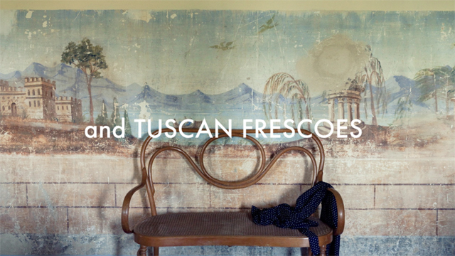 AND TUSCAN FRESCOES