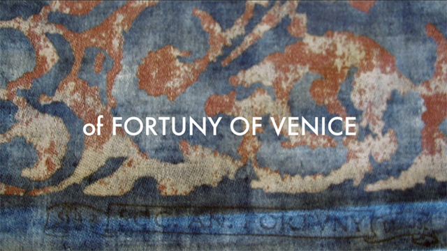 OF FORTUNY OF VENICE