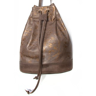 Drawstring Bag Taupe Field